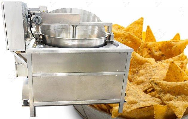 Automatic Flour Chips Fryer Machine