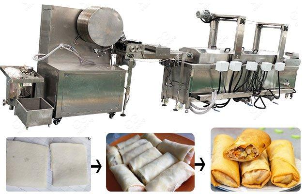 Spring Roll Machine in Vietnamese