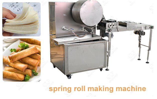 Machine for Making Spring Roll