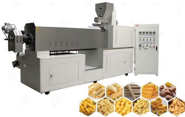 Puffed Food Extruder Machine