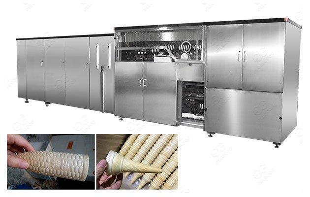 Ice Cream Wafer Cone Machine Line