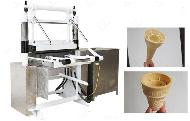 Ice Cream Cone Machinery in Factory