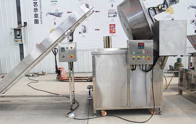 Commercial Chin Chin Frying Machine Price