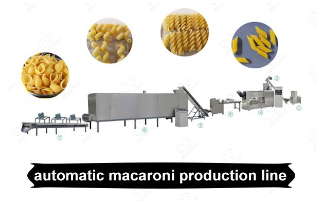 Automatic Macaroni Production Line Price