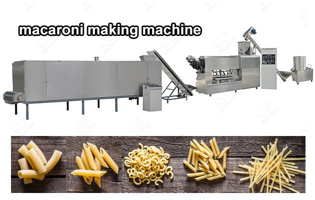 Macaroni Production Line Manufacturer