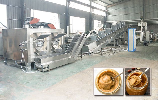 Peanut Butter Processing Machine Factory