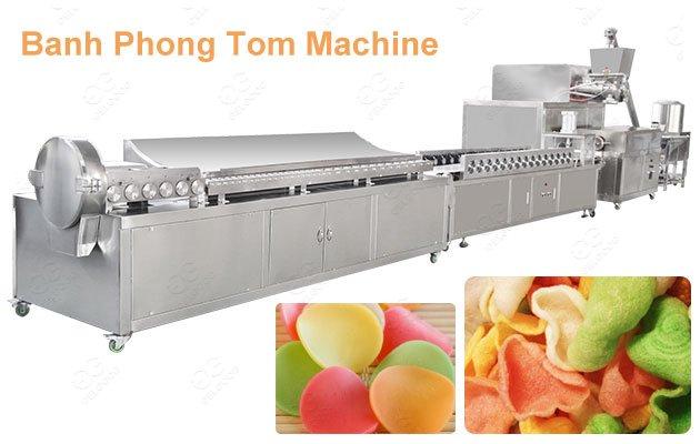Commercial Banh Phong Tom Making Machine