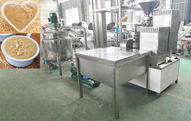 Sesame Butter Production Line from GELGOOG