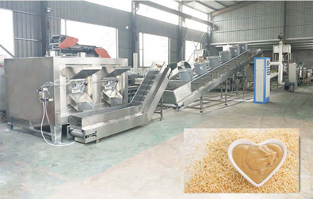 GELGOOG Sesame Butter Production Line
