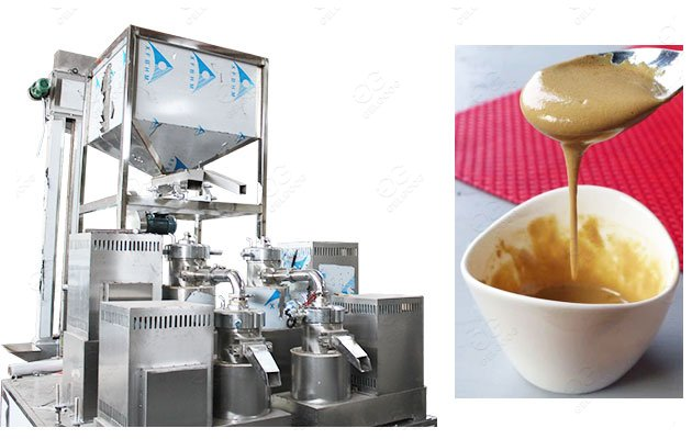 Sesame Paste Making Machine Line
