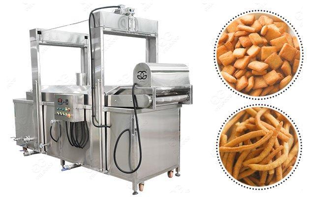 Nigeria Chin Chin Frying Equipment