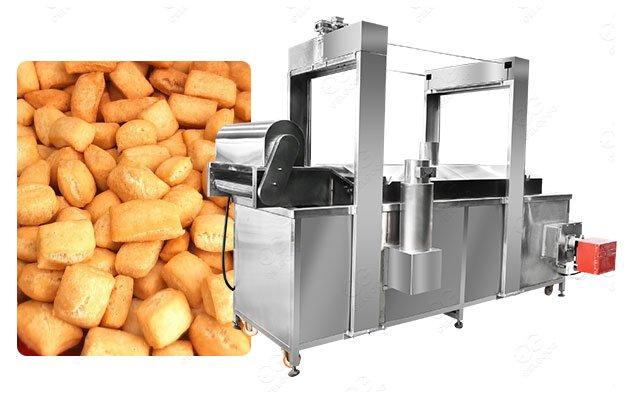 Continuous Chinchin Frying Machine