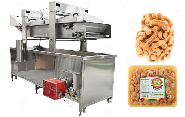 Pork Cracklings Fryer Machine For Sale