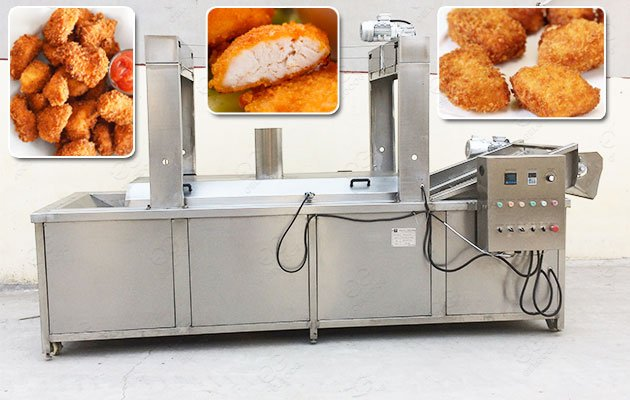 Frying Machine for Chicken Nuggets