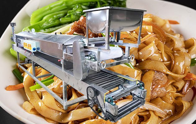 Industrial Rice Noodle Making Machine